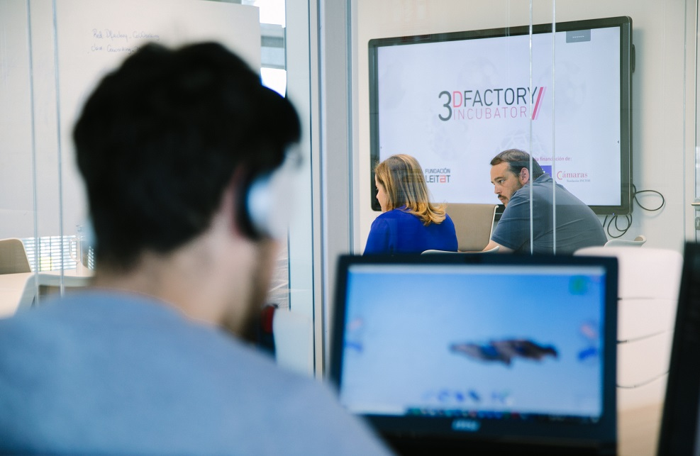 The 3D Factory Incubator passes its first year with flying colours